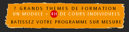 7 themes de formation
