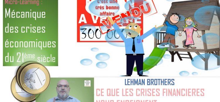 Ce que les crises économiques du 21è siècle nous enseignent