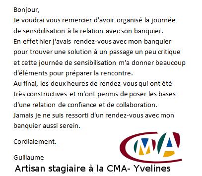 témoignage stagiaire CMA-Yvelienes